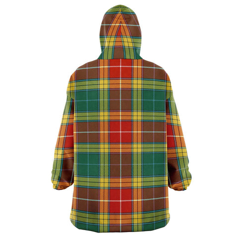 Image of Buchanan Old Sett Snug Hoodie - Unisex Tartan Plaid Back