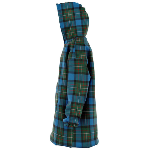 Fergusson Ancient Snug Hoodie - Unisex Tartan Plaid Left