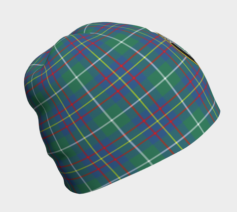 Image of Inglis Ancient Tartan Clan Crest Beanie