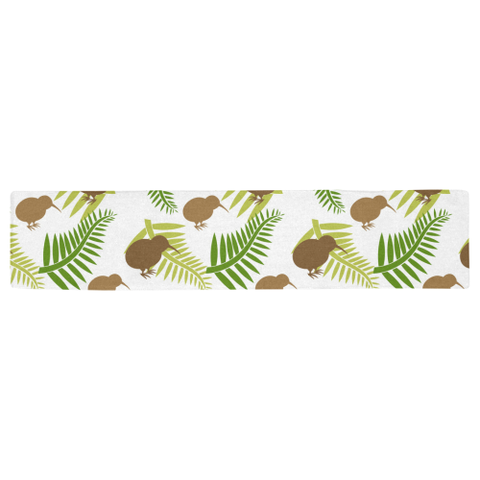 New Zealand Table Runner - Silver Fern 15 A2