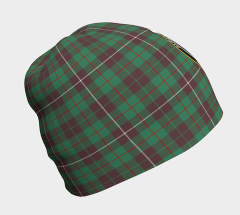 MacKinnon Hunting Ancient Tartan Clan Crest Beanie