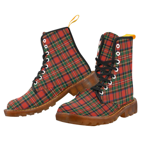 Image of Stewart Royal Modern Tartan Martin boots | Scotland Boots | Over 500 Tartans