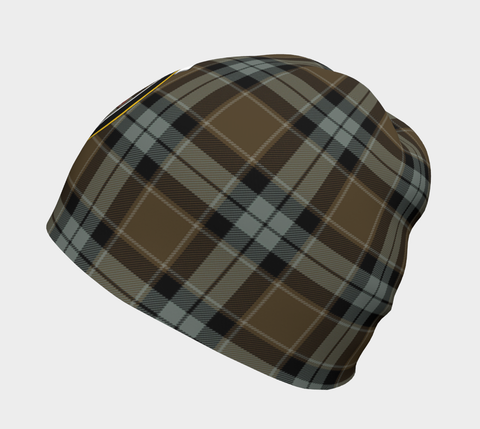 Graham of Menteith Weathered Tartan Clan Crest Beanie Hj4