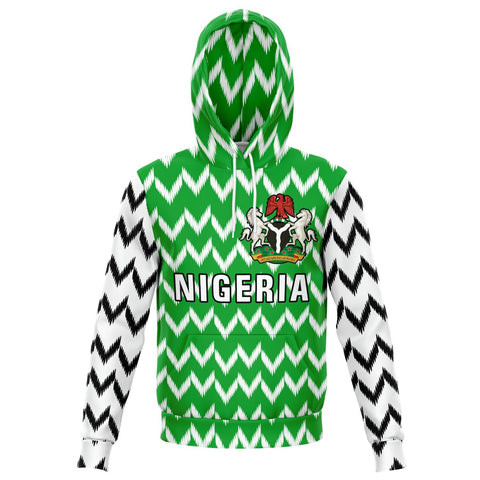 Image of Nigeria Hoodie - Nigeria Sports Style TH5