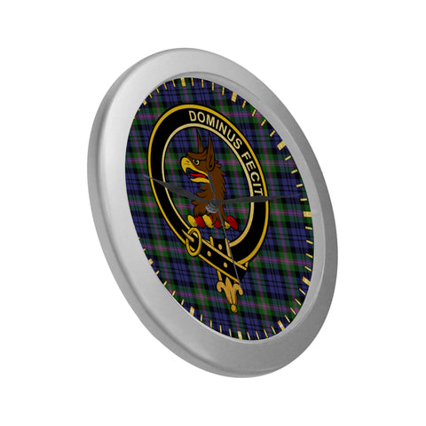 Image of BAIRD CLAN TARTAN WALL CLOCK A9
