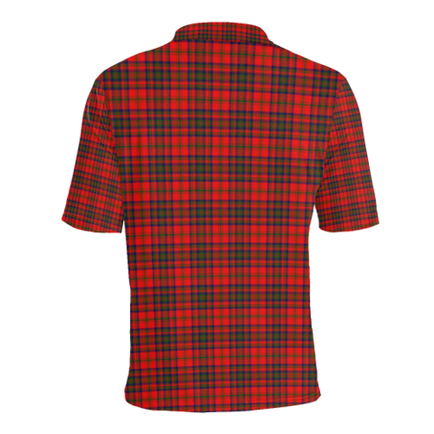 Matheson Modern Tartan Clan Badge Polo Shirt HJ4