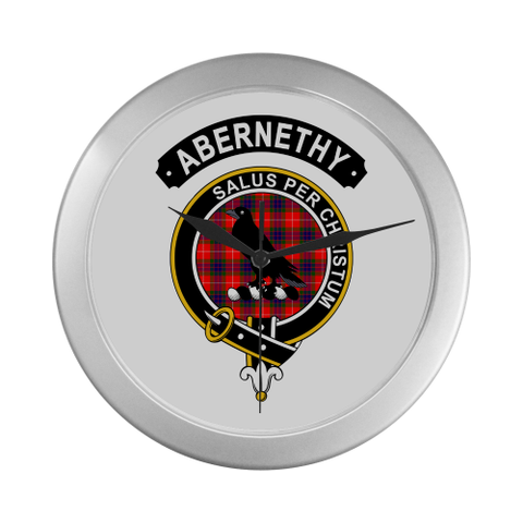 Image of Abernethy Clan Tartan Wall Clock A7
