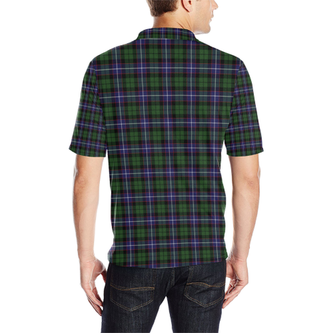 Image of Galbraith Modern Tartan Clan Badge Polo Shirt HJ4