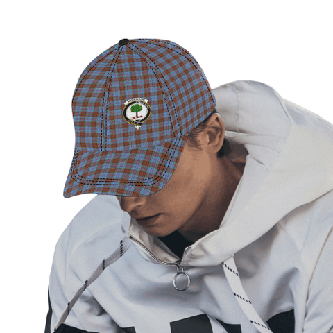Image of Anderson Modern Clan Badge Tartan Dad Cap - BN03