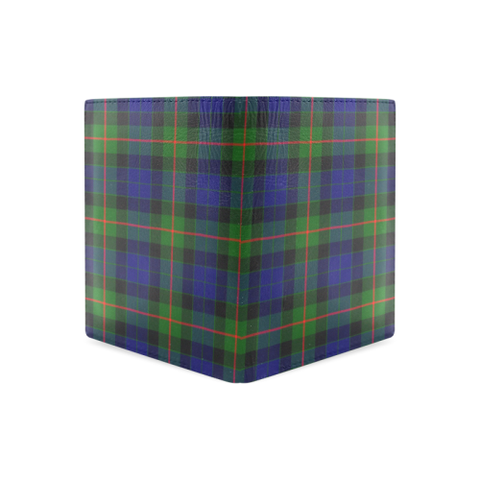 Gunn Modern Tartan Wallet | Leather wallet for men | 1sttheworld