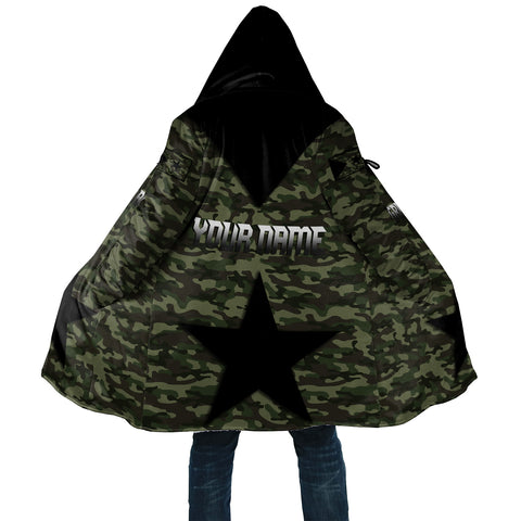 Image of 1stTheWorld Cloak - Army Tigray A13