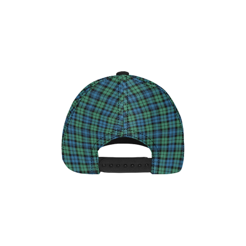 Image of Campbell Ancient 01 Clan Badge Tartan Dad Cap - BN03