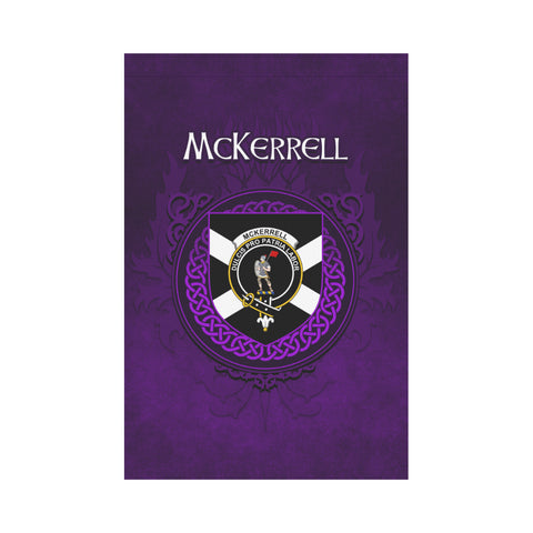 McKerrell Crest Scotland Garden Flag (Purple) | Over 300 Clans