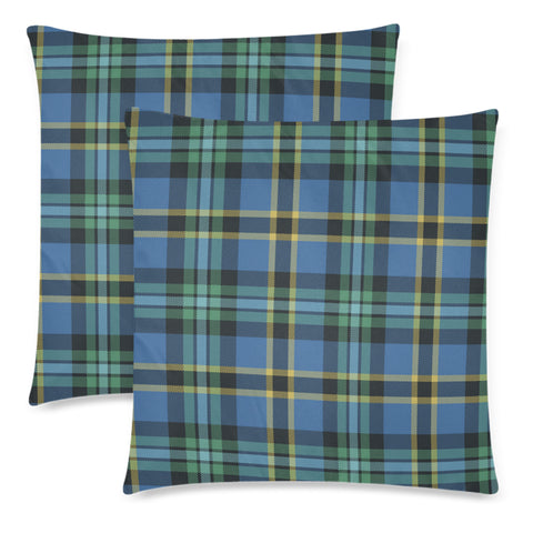 Weir Ancient Tartan Pillow Cover Hj4