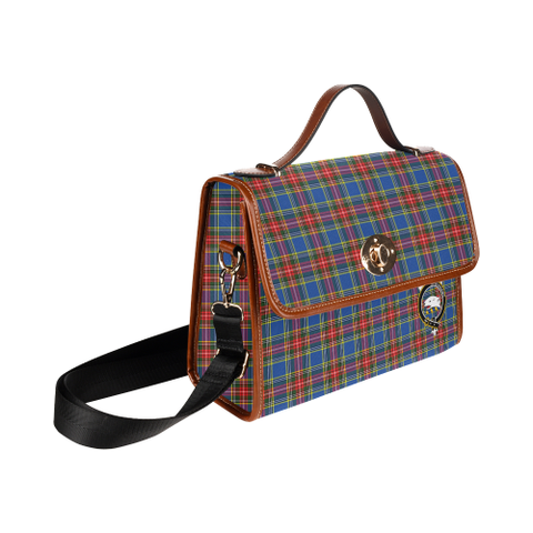 Image of Tartan Canvas Bag - Bethune Clan | Over 300 Clans | Order Online