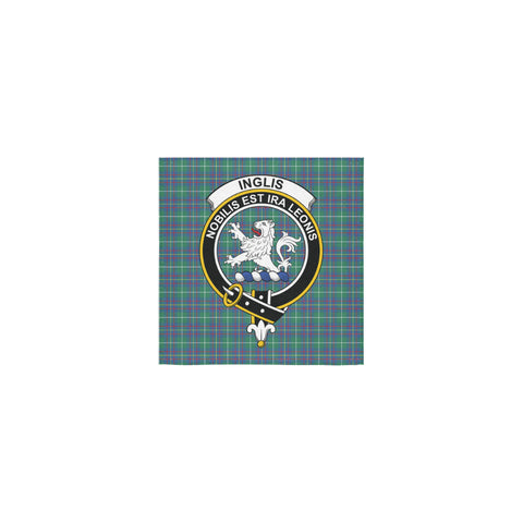 Inglis Ancient Tartan Towel Clan Badge | 1sttheworld.com