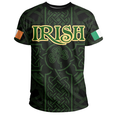 Ireland T-shirt - Irish Celtic Cross | Clothing