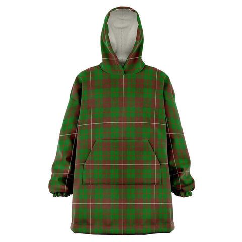 Image of MacKinnon Hunting Modern Snug Hoodie - Unisex Tartan Plaid Front