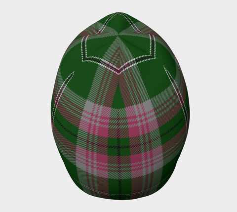 Image of Gray Hunting Tartan Beanie Hj4