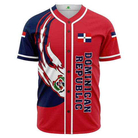 Dominican Republic Baseball Team Baseball Jersey - J6