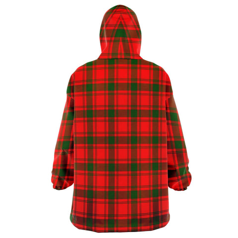 Image of MacQuarrie Modern Snug Hoodie - Unisex Tartan Plaid Back