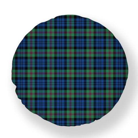 Baird Ancient Tartan Throw Pillow Cover - Round | 1sttheworld.com