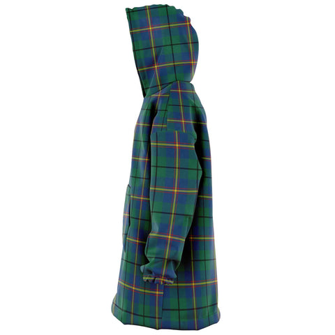 Carmichael Ancient Snug Hoodie - Unisex Tartan Plaid Left