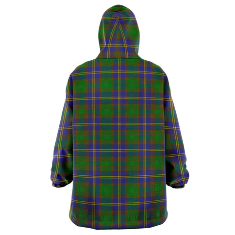 Strange of Balkaskie Snug Hoodie - Unisex Tartan Plaid Back