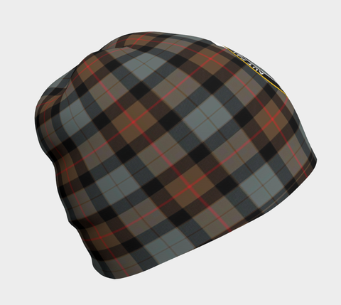 Image of Gunn Weathered Tartan Clan Crest Beanie
