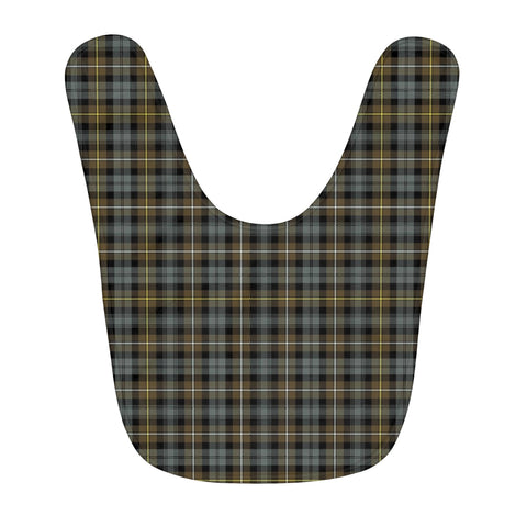 Campbell Argyll Weathered Fleece Baby Bib | Kids Scottish Clothing | Bib Garment