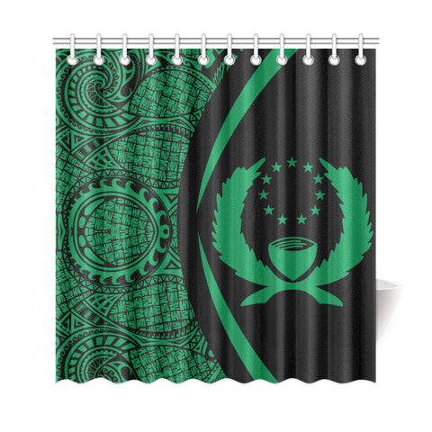 Image of Pohnpei Micronesian Shower Curtain