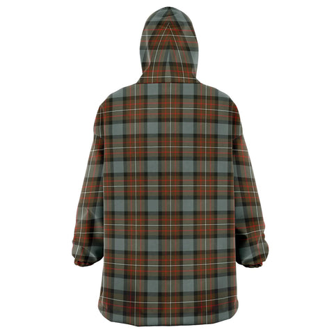 Fergusson Weathered Snug Hoodie - Unisex Tartan Plaid Back