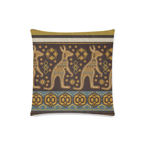 Image of Aboriginal Kangaroo Pillow Covers NN6