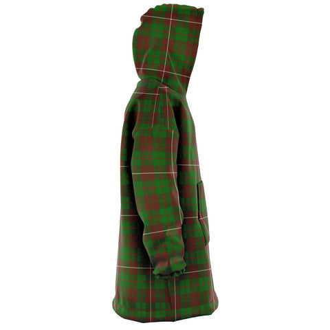 MacKinnon Hunting Modern Snug Hoodie - Unisex Tartan Plaid Right