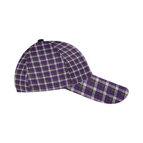 Image of Heron (MacDonald Dress Modern) Clan Badge Tartan Dad Cap - BN03