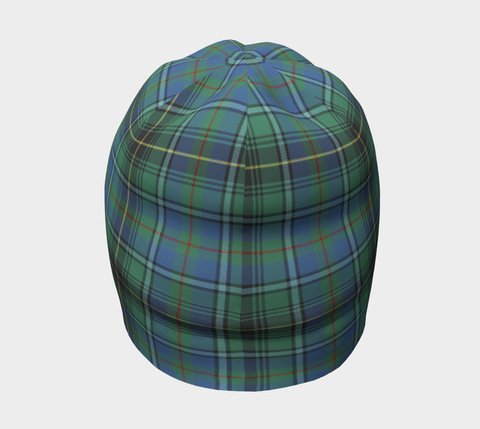 Image of MacInnes Ancient Tartan Clan Crest Beanie Hj4