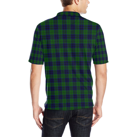 Keith Modern Tartan Clan Badge Polo Shirt HJ4