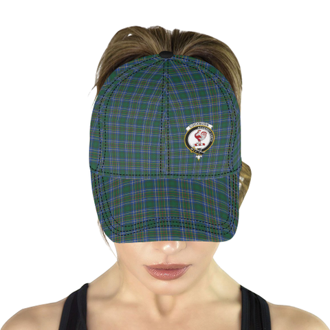 Cockburn Ancient Clan Badge Tartan Dad Cap - BN03