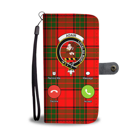 Tartan Wallet Case - Adair Is Calling A9
