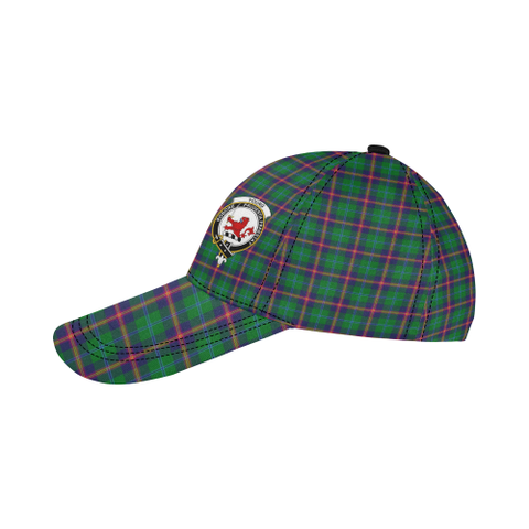Young Modern Clan Badge Tartan Dad Cap - BN04