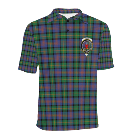 Logan Ancient Tartan Clan Badge Polo Shirt HJ4