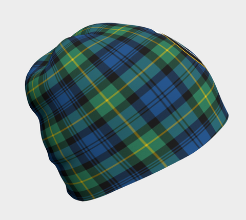 Gordon Ancient Tartan Clan Crest Beanie