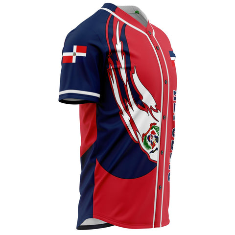 Dominican Republic Baseball Jersey - J6