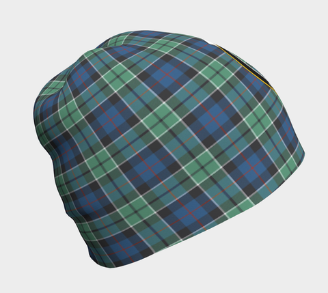 Image of Leslie Hunting Ancient Tartan Clan Crest Beanie