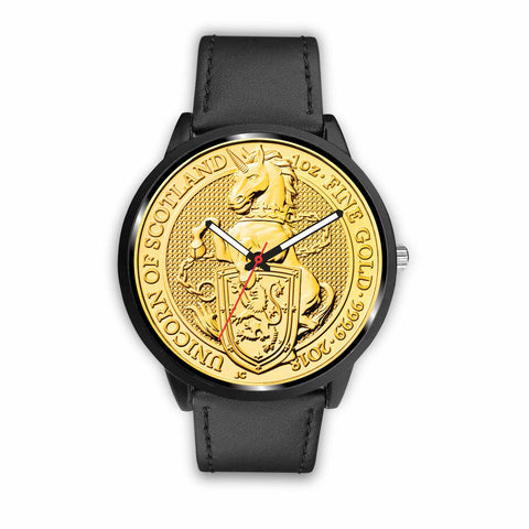 Scotland Coin Leather-Steel Watch 02 th9