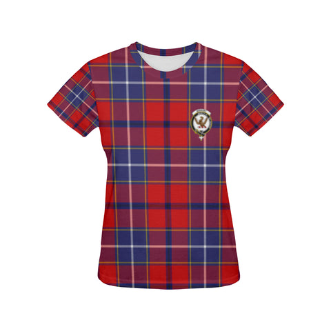 Image of Tartan T-shirt - Wishart Clan| Tartan Clothing | Over 500 Tartans and 300 Clans