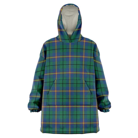 Image of Carmichael Ancient Snug Hoodie - Unisex Tartan Plaid Front