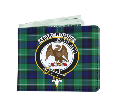 ABERCROMBIE CLAN TARTAN MEN WALLET A9