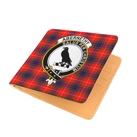 ABERNETHY CLAN TARTAN MEN WALLET A9