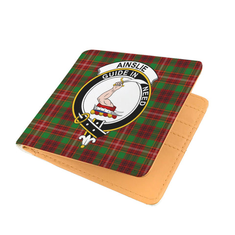 AINSLIE CLAN TARTAN MEN WALLET A9